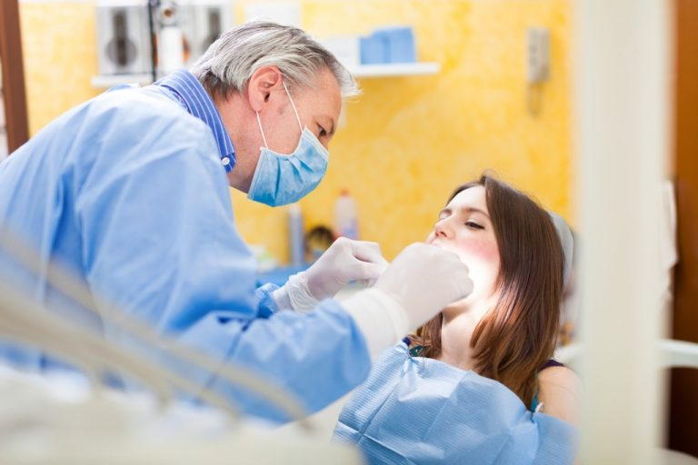oral surgery concept